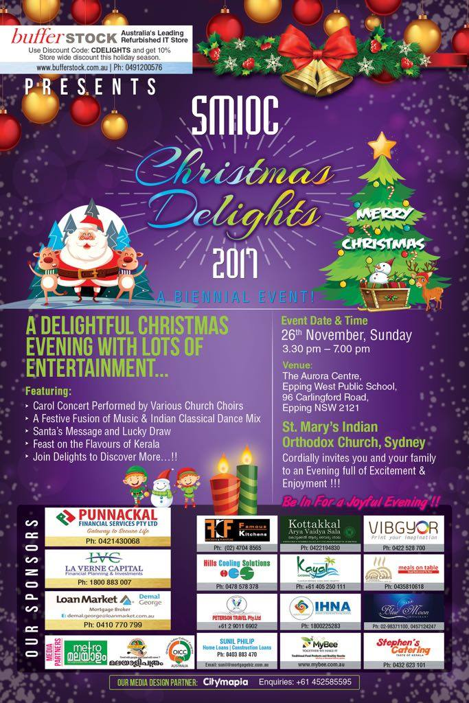 Christmas Delights Flyer